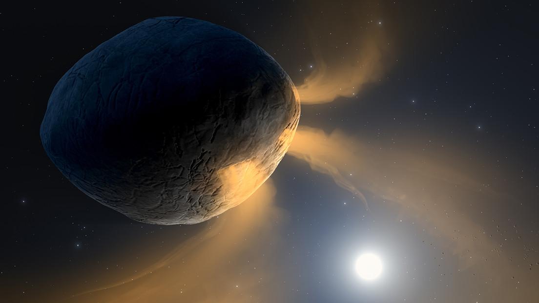 Este asteroide tiene una cola similar a la de un cometa (y ahora los astrónomos explican por qué)
