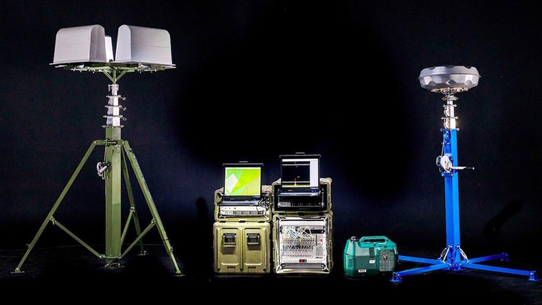 Presentan en Rusia una 'maleta' antidrones invisible a los radares