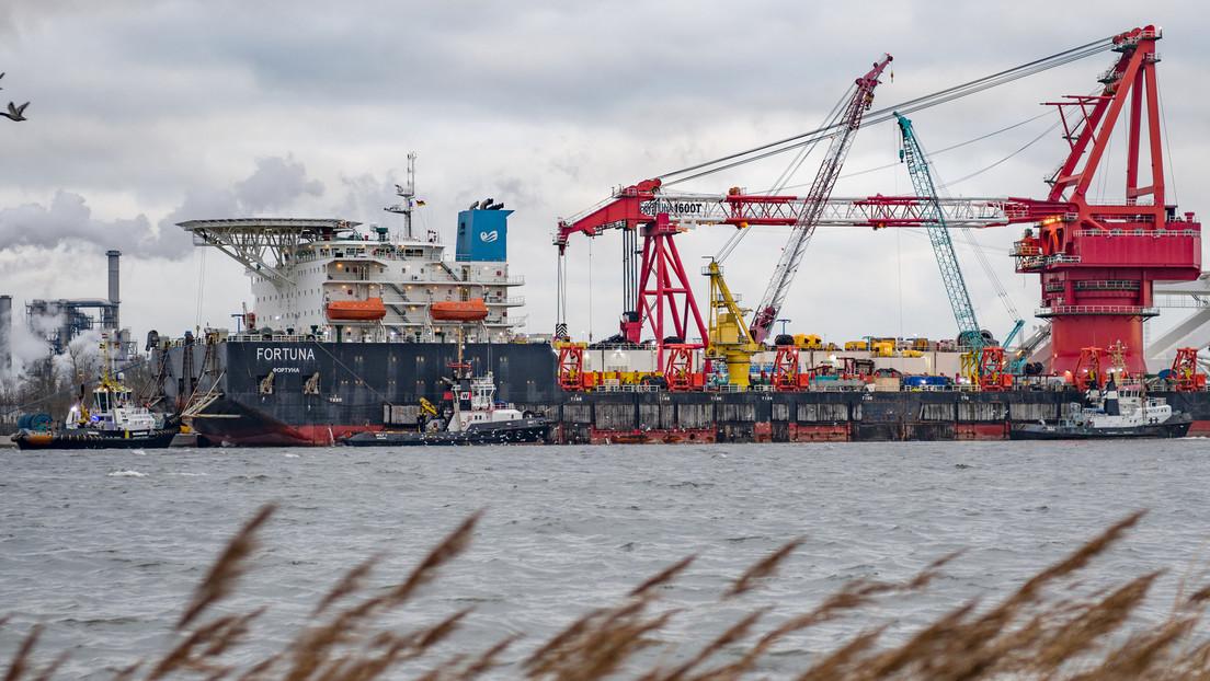Concluyen las obras del tramo del Nord Stream 2 en la zona económica exclusiva de Dinamarca