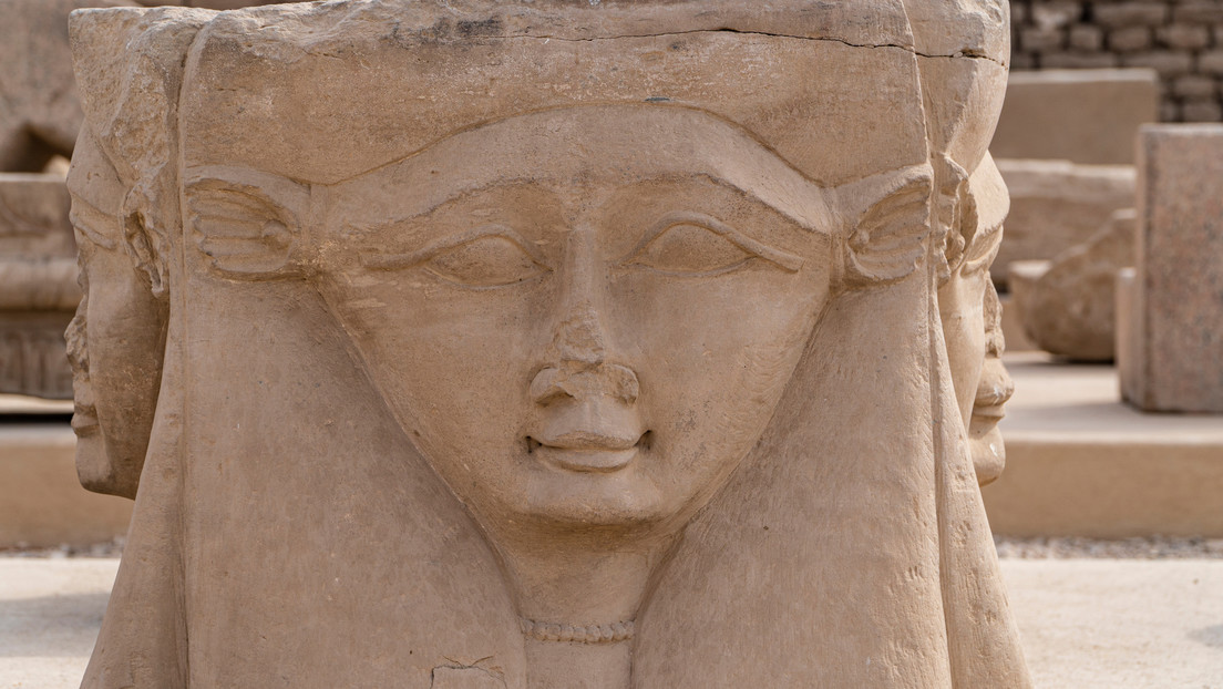 Encuentran en España un amuleto de la diosa egipcia Hathor de unos 3.000 años de antigüedad
