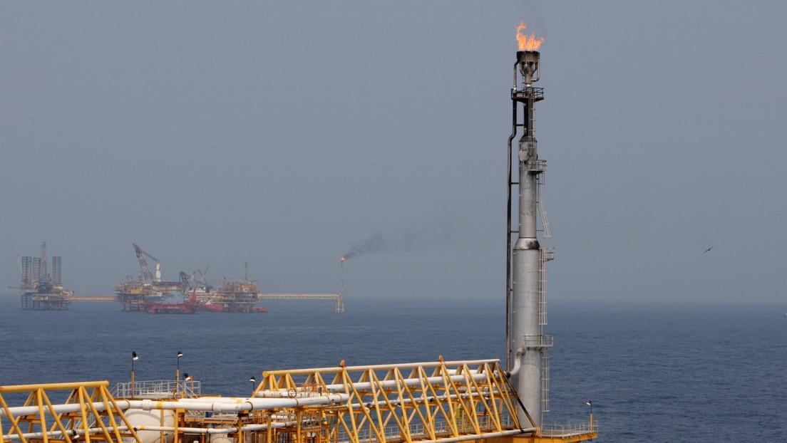 Se incendia una plataforma marina de Pemex en el golfo de México (FOTOS, VIDEO)