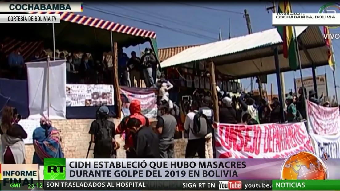 CIDH establece que hubo masacres durante el golpe de Bolivia en 2019