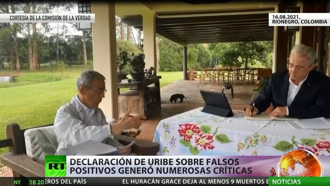 """Declaración de Uribe sobre """"falsos positivos"""" genera numerosas criticas"""