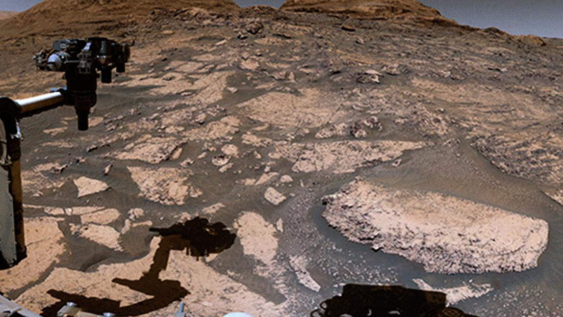 La NASA comparte vistas panorámicas de Marte grabadas por el Curiosity mientras sube a un monte