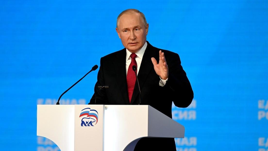 """Putin: """"Observamos atentamente la situación en Afganistán, pero no intervendremos en un conflicto de todos contra todos"""""""