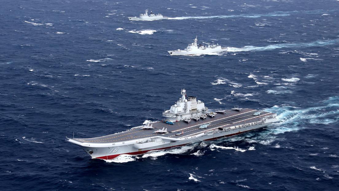 China realiza ejercicios navales con munición real en vísperas de las maniobras de EE.UU. y sus aliados en el Pacífico Occidental