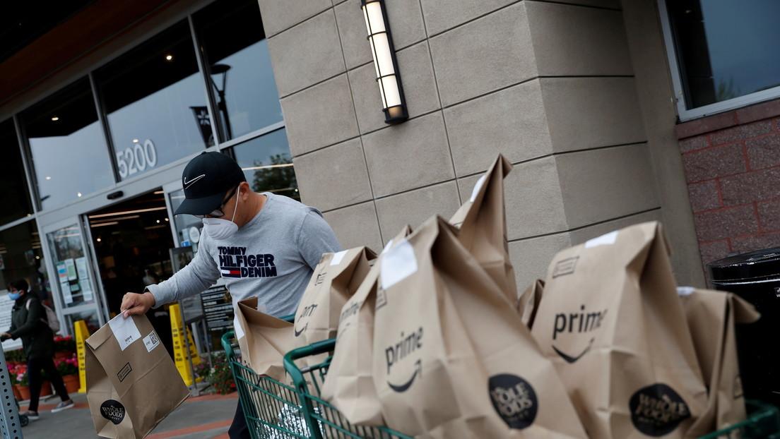Amazon ofrece un incentivo de más de 1.300 dólares para atraer a personal al Reino Unido mientras el país enfrenta una crisis de reclutamiento