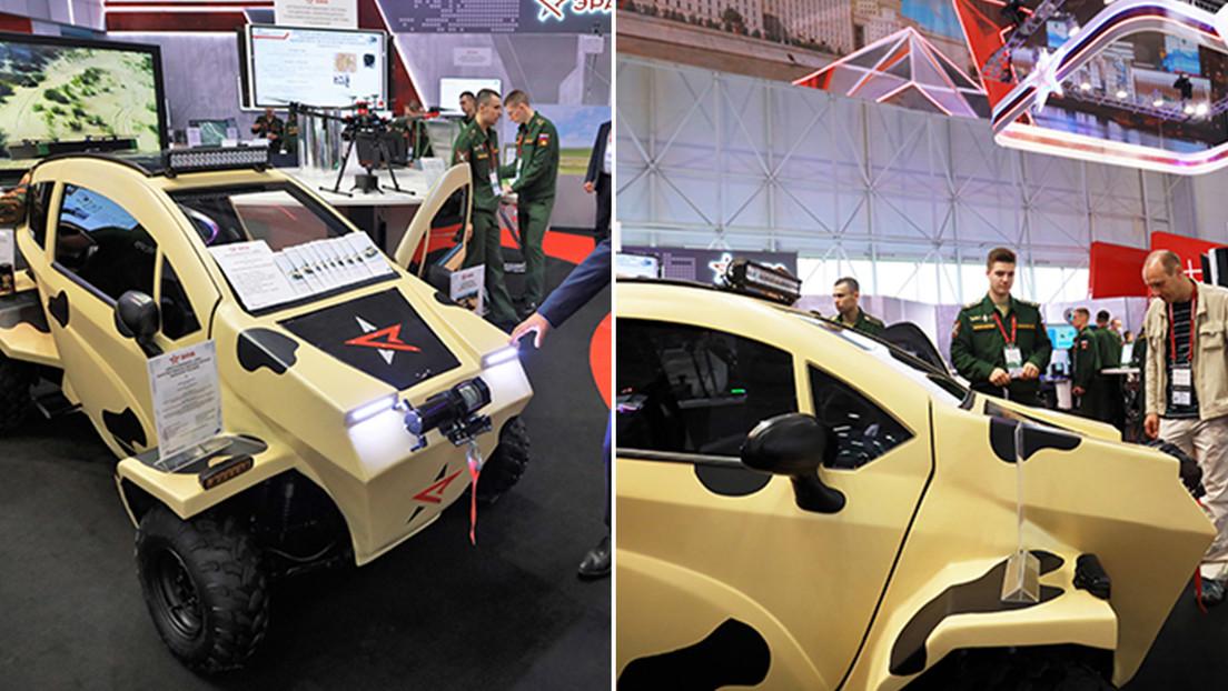 FOTOS: Presentan el primer vehículo eléctrico desarrollado para las Fuerzas Armadas rusas