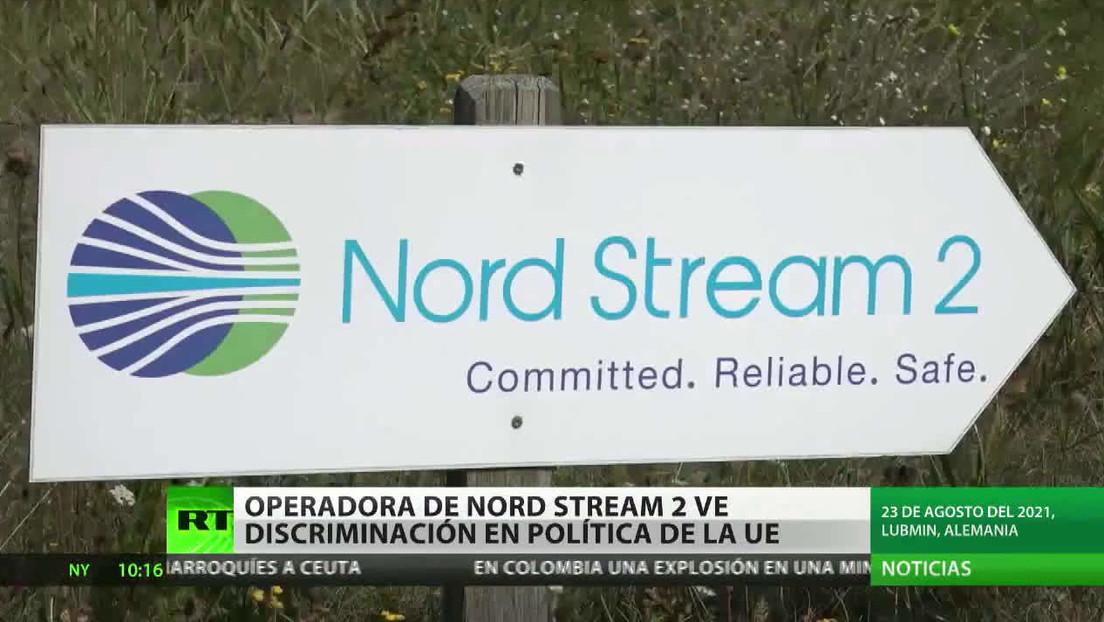 La operadora de Nord Stream 2 ve discriminación en los requerimientos europeos sobre el transporte de gas