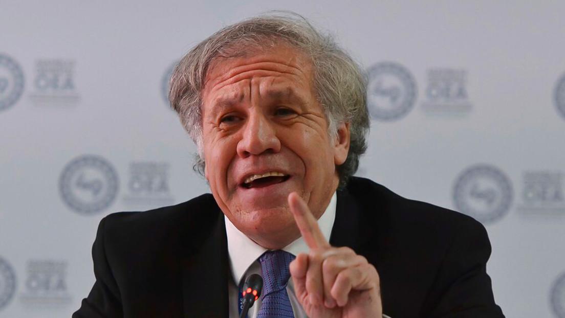 """Almagro tilda de """"infamia"""" las acusaciones sobre el golpe de Estado en Bolivia (y un breve repaso de cuál fue su papel y el de la OEA)"""