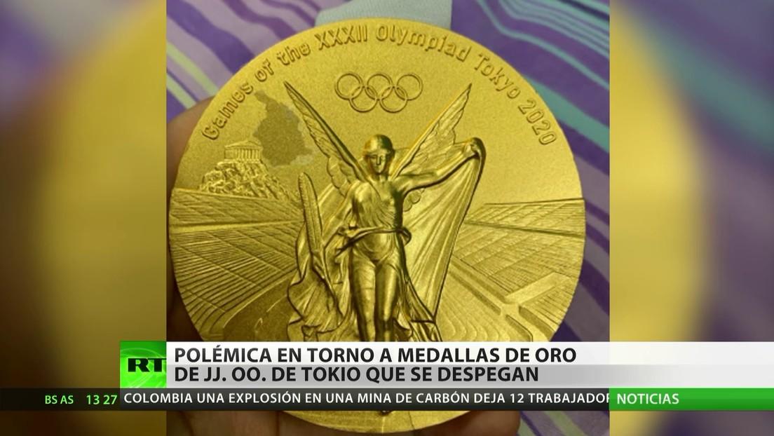 Polémica en torno a las medallas de los JJ.OO. de Tokio 2020