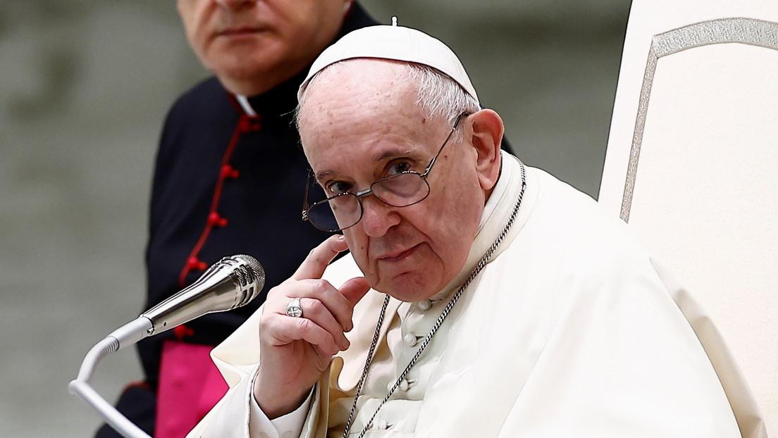 """El papa Francisco critica la """"detestable hipocresía"""" existente en la Iglesia católica y entre sus ministros"""