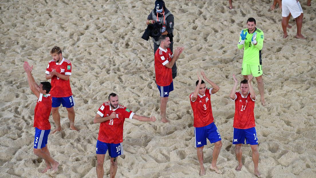 Rusia vence a España en cuartos de final del Mundial de Fútbol Playa, a pesar de sufrir 2 expulsiones en un partido marcado por un arbitraje sesgado