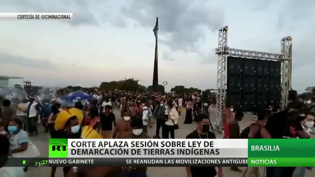 La Corte Suprema de Brasil aplaza el juicio sobre la ley de demarcación de tierras de los pueblos originarios