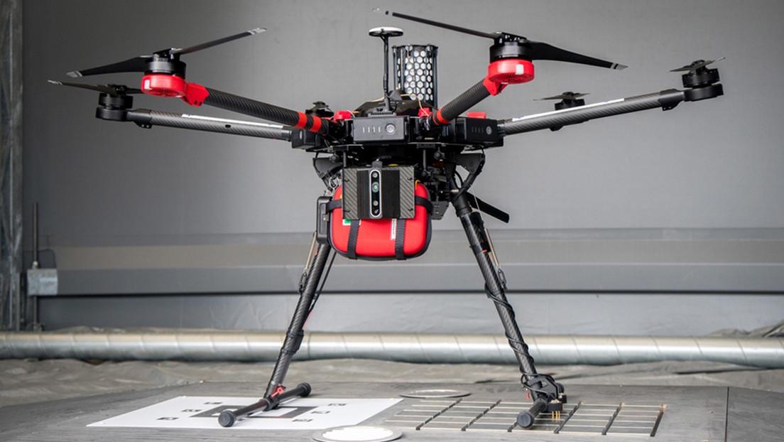 Desfribrilador volante: los drones podrían imponerse a las ambulancias como medio para socorrer a pacientes con paro cardíaco