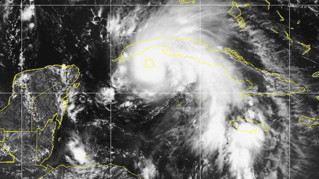 El ciclón Ida se fortalece hasta alcanzar la condición de huracán y se acerca a Cuba