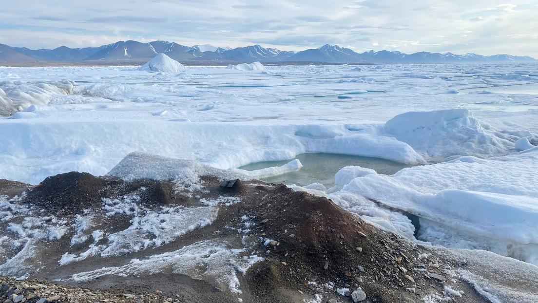 Descubren posible isla más septentrional del planeta Tierra