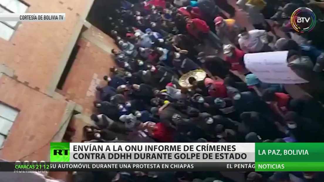 El embajador de Bolivia ante la ONU presentó un informe final sobre la violación de DD.HH. durante el golpe de Estado del 2019