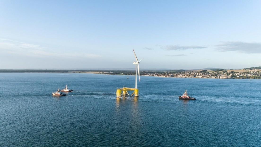 Finaliza la instalación del mayor parque eólico marino flotante del mundo, que suministrará energía a unos 55.000 hogares