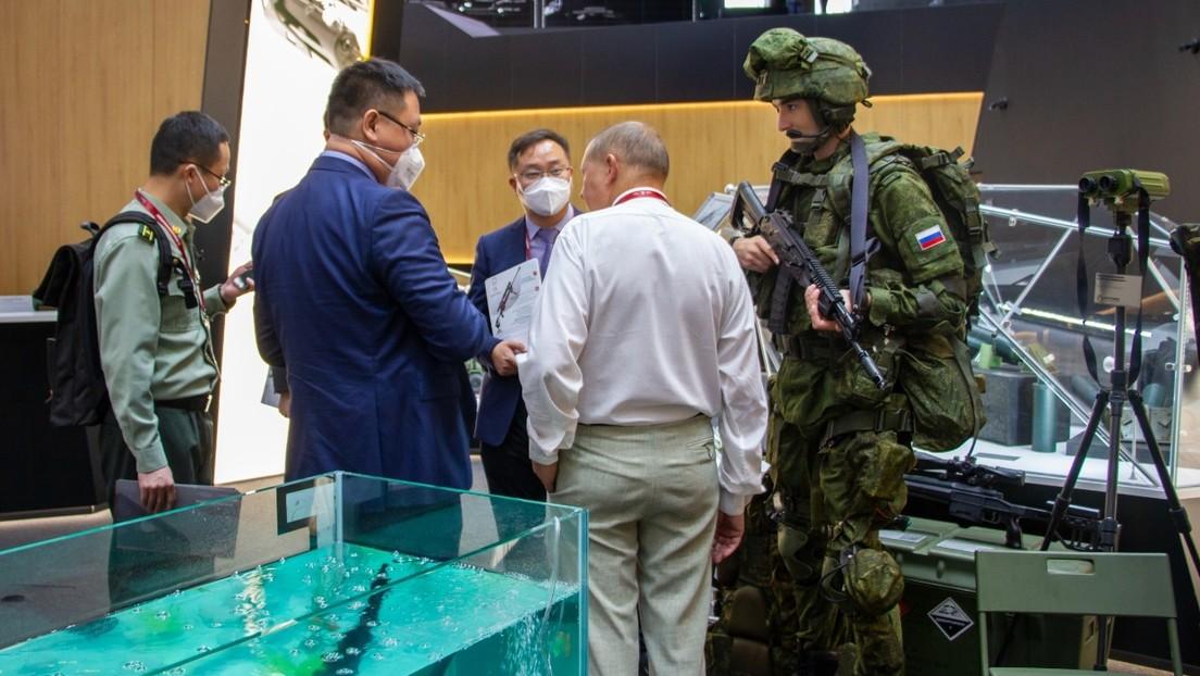 Desarrollan en Rusia un exoesqueleto de combate con motores eléctricos queseríaparte del equipamiento de los soldados del futuro