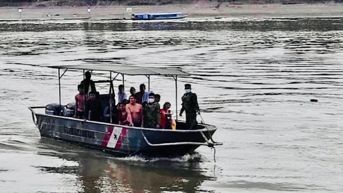 Al menos 11 muertos, 6 heridos y varios desaparecidos tras la colisión de dos embarcaciones en la Amazonia peruana