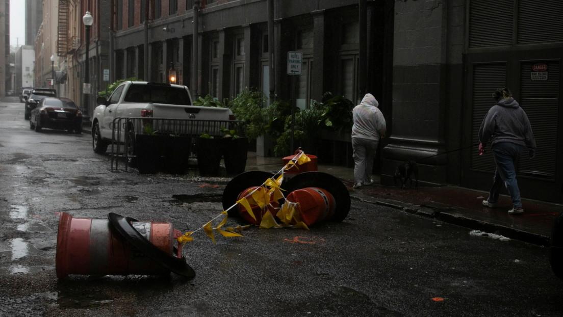 Informan de la primera víctima mortal del huracán Ida en EE.UU.