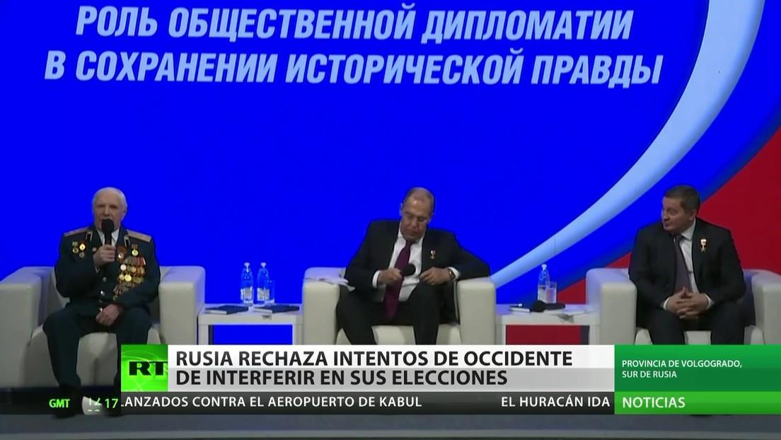 Moscú rechaza los intentos de Occidente de interferir en sus elecciones