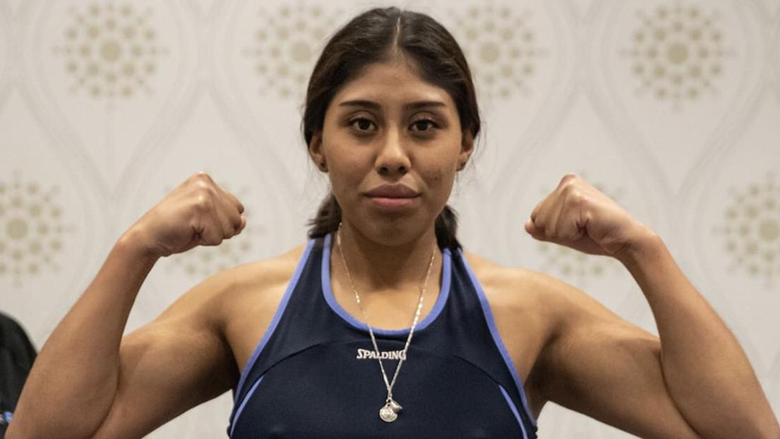 La boxeadora mexicana 'Chiquitaboom' permanece en estado crítico tras recibir un 'nocaut' en un combate en Canadá (VIDEO)