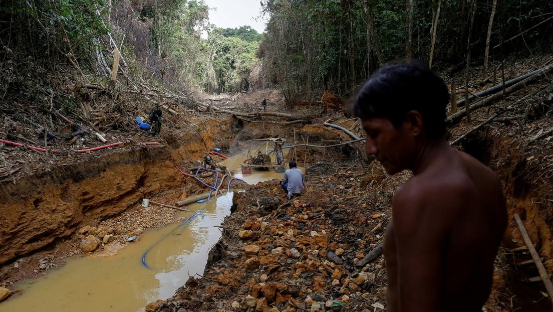 La minería ilegal aumentó en diez años casi 500 % en las tierras indígenas de Brasil