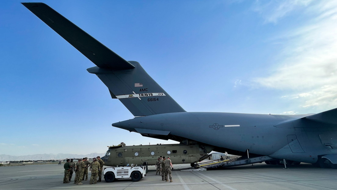 El Pentágono confirma que el último avión estadounidense ha despegado del aeropuerto de Kabul