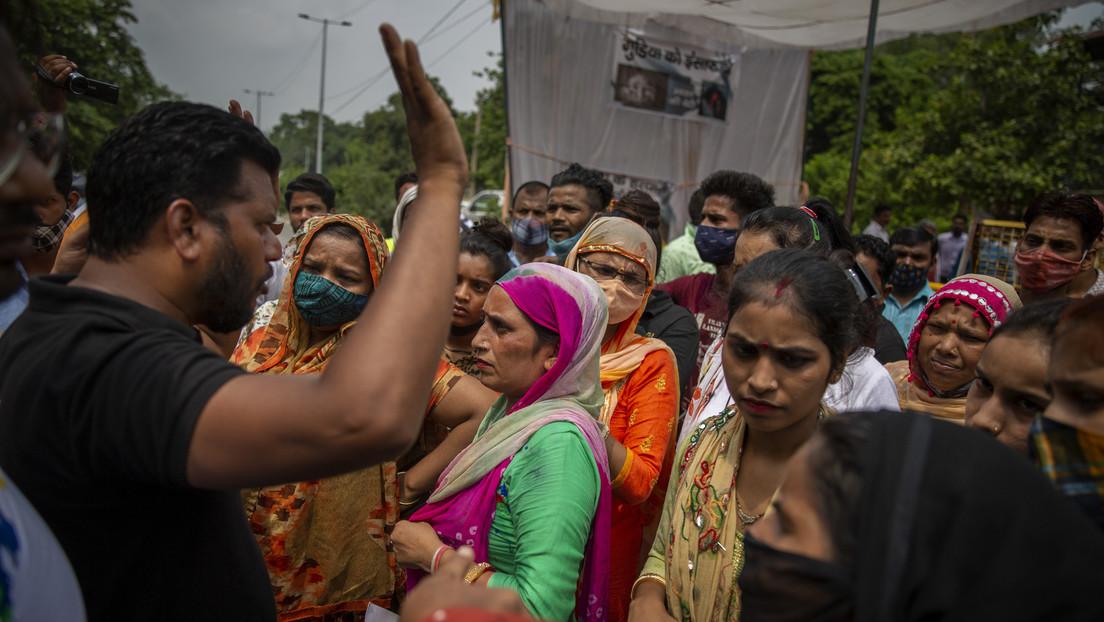 Acusan a cuatro hombres de violación y asesinato de una niña de nueve años en la India