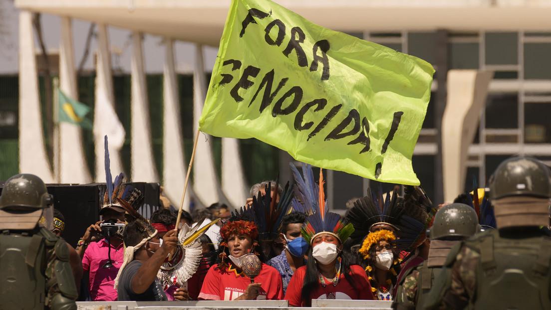 """""""Violencia letal"""": Los asesinatos de indígenas en Brasil aumentan un 22 % en diez años, mientras los homicidios en general caen un 20 %"""