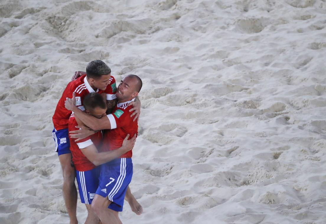Russia, new beach soccer world champion