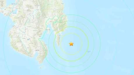 Se registra un terremoto de magnitud 7,1 cerca de las costas de Filipinas