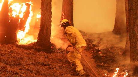 Dixie se convierte en el mayor incendio forestal activo en EE.UU. y el segundo en la historia de California (FOTOS)