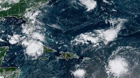 La tormenta tropical Grace se desplaza rumbo a Florida y puede azotar Haití