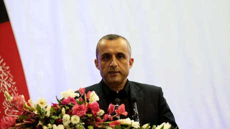 El primer vicepresidente afgano afirma que se quedará en el país junto con el pueblo horas después de la huida del expresidente