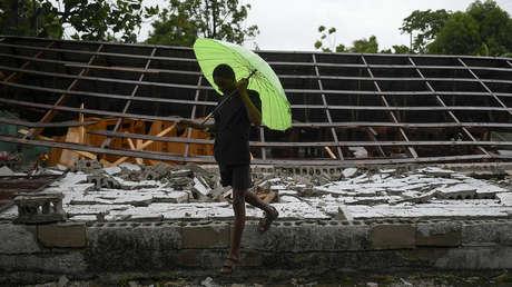 VIDEO: La tormenta tropical Grace se acerca a Haití