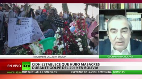 Experto: El informe de la CIDH sobre el golpe de Estado en Bolivia es contundente y servirá para hacer justicia
