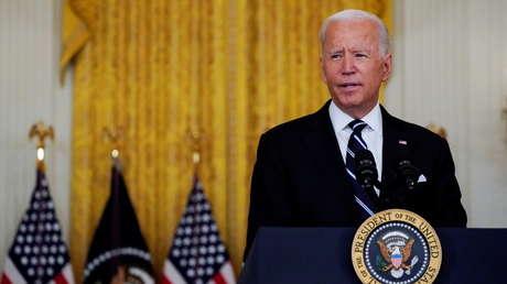 """Biden afirma que ve una """"mayor amenaza terrorista de Siria y otros lugares del mundo que de las montañas de Afganistán"""""""