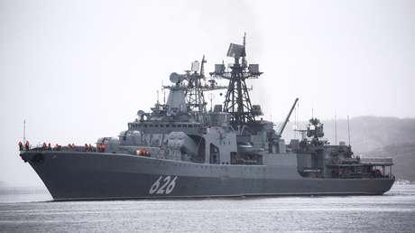 Dos buques de la Armada rusa anclan frente a Argelia tras no recibir autorización de España para hacerlo en Ceuta