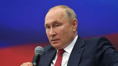 """Putin: """"No queremos que aparezcan milicianos aquí bajo el disfraz de refugiados de Afganistán"""""""