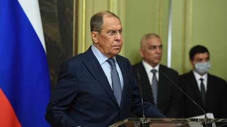 """Lavrov: """"Nord Stream 2 fortalecerá la seguridad energética de Europa en las próximas décadas"""""""
