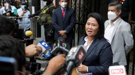 Keiko Fujimori finalmente reconoce a Pedro Castillo como presidente de Perú