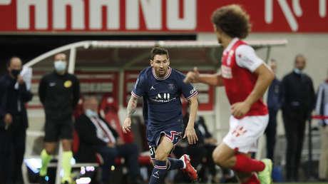 Lionel Messi debuta con el Paris Saint-Germain