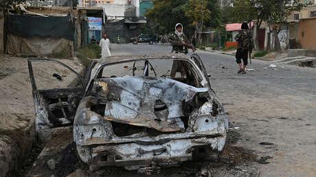 Aumenta a 12 el número de los civiles fallecidos en Kabul tras el ataque de EE.UU. contra un coche bomba