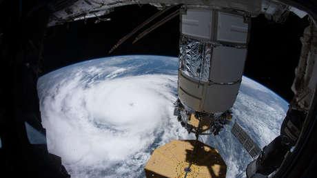 FOTOS: Graban desde el espacio la magnitud del huracán Ida