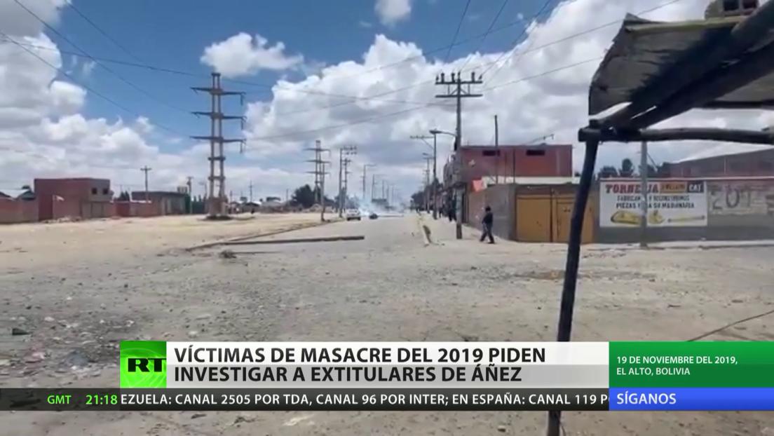 Bolivia: Las víctimas de la masacre de Senkata piden investigar a extitulares de Jeanine Áñez