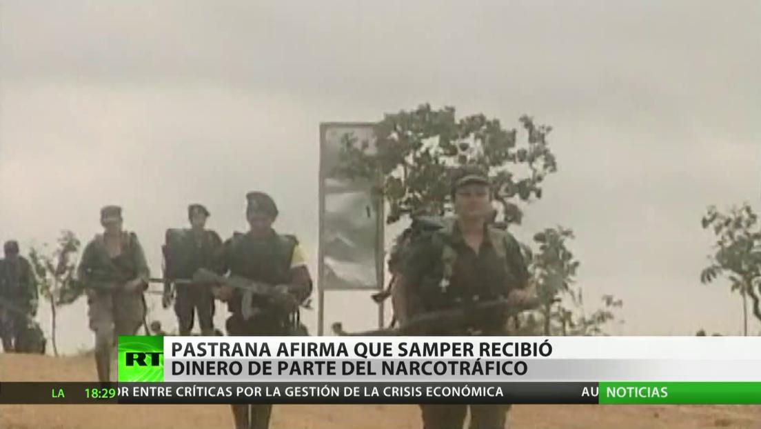 Colombia: El expresidente Andrés Pastrana afirma que su predecesor recibió dinero del narcotráfico