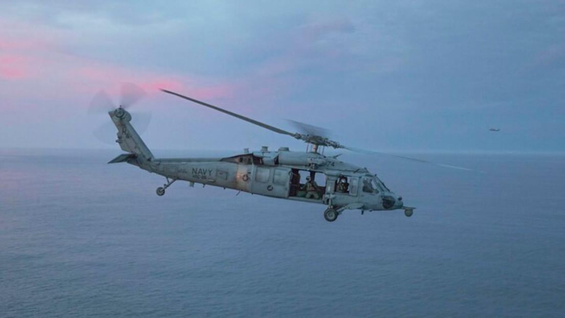 Un helicóptero de la Marina de EE.UU. se estrella frente a la costa de California